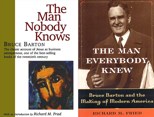 bruce barton essay Here barton served as circuit-riding preacher and conducted mission work for seven churches in the mountainous region for two years, and he and esther added a son, bruce, and two adopted african-american children to the family.