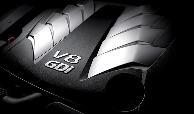 V8 타우 엔진