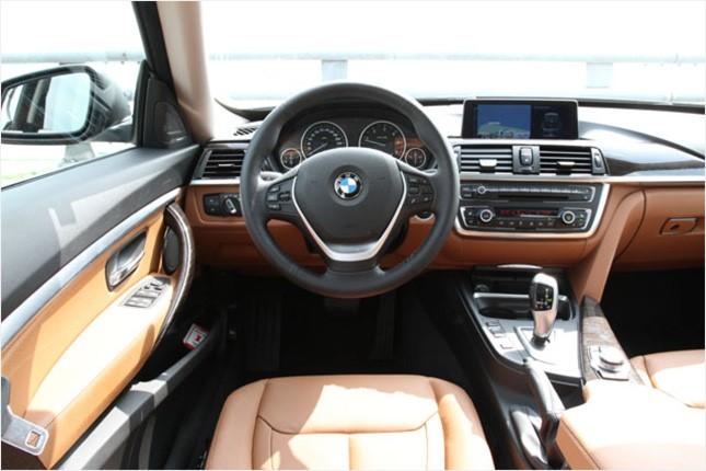 BMW 3시리즈 그란투리스모 드라이버 콕핏
