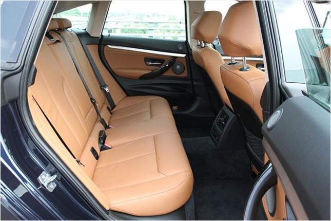 BMW 3시리즈 그란투리스모 2열 시트