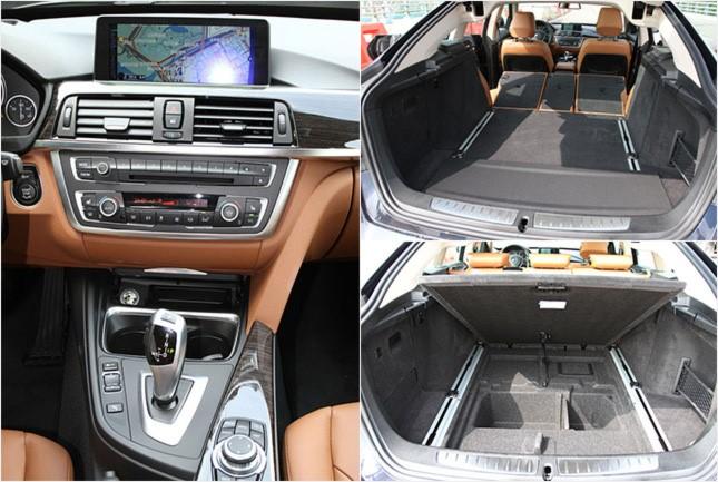 BMW 3시리즈 그란투리스모 공조장치, 트렁크