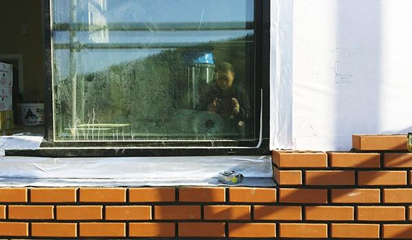목조주택 외부에 벽돌 쌓는 방법 이미지 6