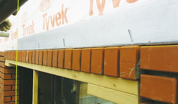 목조주택 외부에 벽돌 쌓는 방법 이미지 10
