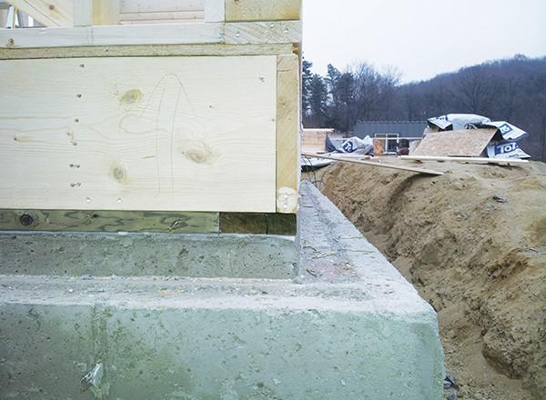 목조주택 외부에 벽돌 쌓는 방법 이미지 1