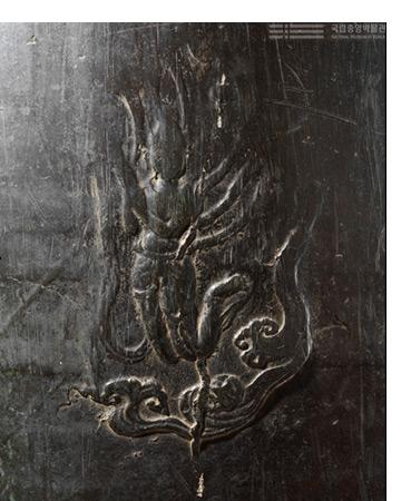 천흥사 종, 고려 1010년, 높이 187㎝, 국보 280호