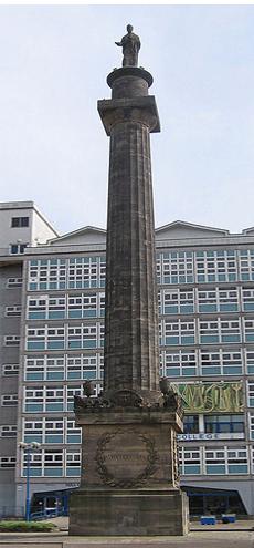 헐 대학교(Hull College)에 서 있는 윌버포스의 기념탑. <출처: (cc) Keith D at en.wikipedia.org>
