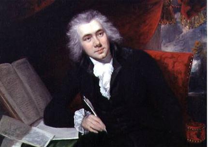 1790년 29세 무렵의 윌버포스. 복음주의를 통해 회심을 경험한 그는 인생에 걸쳐 실천하게 될 두 가지의 큰 목표를 설정하게 된다.