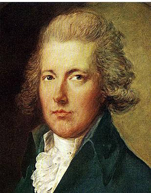 윌버포스의 친구이자 정치적 동지였던 윌리엄 피트. 24세에 수상이 되었으며, 윌버포스와 함께 노예제도의 폐지를 이끌어냈다.